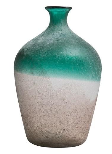 Warm Design İki Ton Gölgeli Vazo Renkli